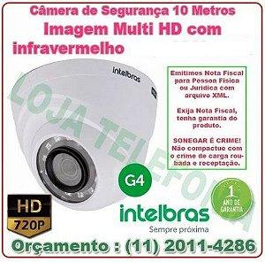Câmera de Segurança  Intelbras Multi-HD 10 metros