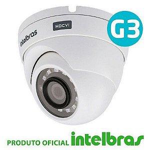 Câmera de Segurança Dome Intelbras HD 30 metros