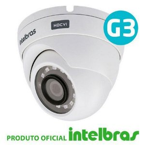 Câmera de Segurança Dome Intelbras 20 metros Full HD