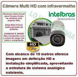 Câmera de Segurança Intelbras HD 10 metros