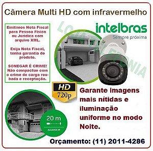 Câmera de Segurança Intelbras Multi HD 20 metros