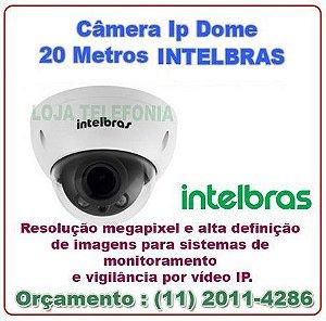 Câmera de Segurança INTELBRAS Dome 20 metros