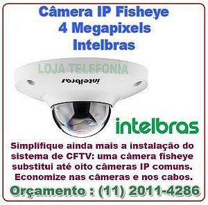 Instalação de Câmera de Segurança - Intelbras Fisheye 4 Megapixels