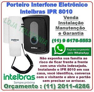 Porteiro Interfone Eletrônico  Intelbras IPR 8010