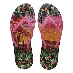 Dupé Holiday Areia e pink