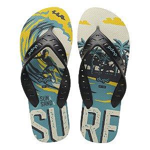 Dupé Surf Pro Branco e Preto