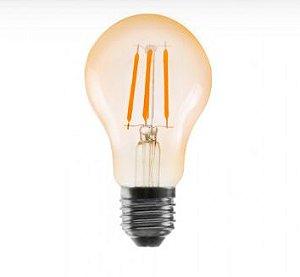 Lampada LED Vintage Nordecor Bulbo A60 4W 2.400K E27 Bivolt