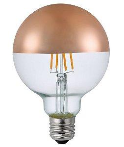 Lâmpada Bulbo LED Nordecor G80 Defletora 4W 2400K E27 Bivolt