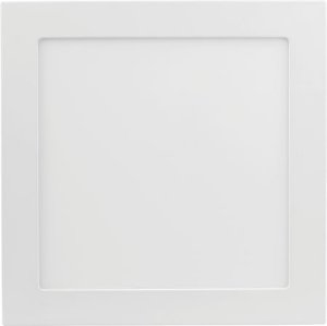Placa de LED de Embutir Save Energy Bivolt 12W 3000K (Luz Quente) 17x17CM