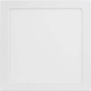 Placa de LED de Embutir Save Energy Bivolt 25W 3000K (Luz Quente) 30x30CM
