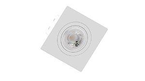 Embutido para Mini Dicróica Save Energy Quadrado Branco