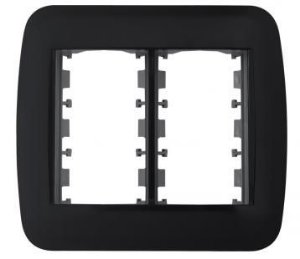 Placa e Bastidor 4x4 para 6 Módulos Pezzi Classica