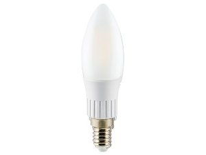 Lâmpada Vela LED Filamento Ourolux Bivolt E14 3W 2700K (Luz Quente)