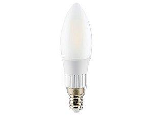 Lâmpada Vela LED Filamento Ourolux Bivolt E14 3W 6500K (Luz Fria)