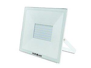 Projetor de LED Ourolux Bivolt 30W 6500K (Luz Fria)