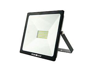 Projetor de LED Ourolux Bivolt 50W 6500K (Luz Fria)