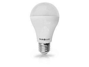 Lâmpada Bulbo LED Ourolux Bivolt 4W 2700K (Luz Quente)