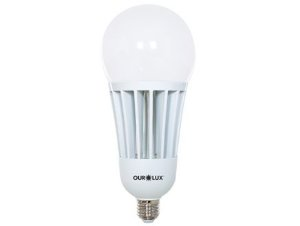 Lâmpada Bulbo LED Ourolux Bivolt 65W 6500K (Luz Fria)