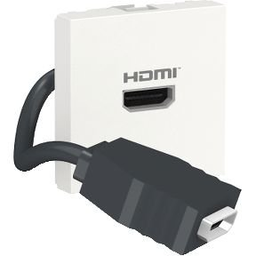 Módulo Tomada HDMI Pré-cabeada Schneider Orion