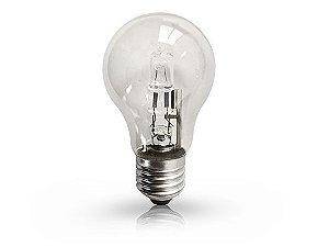 Lâmpada Bulbo Halógena Ourolux 220V 70W 2800K (Luz Quente)