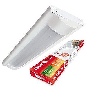 Luminária Ourolux Lisa Bivolt 18W 6400K (Luz Fria)