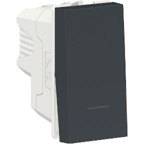 Módulo Interruptor Intermediário Schneider Orion Preto