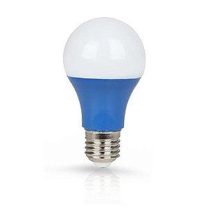 Lâmpada Bulbo LED Ourolux Bivolt 7W Azul