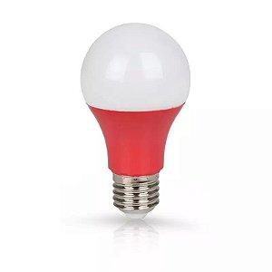 Lâmpada Bulbo LED Ourolux Bivolt 7W Vermelha