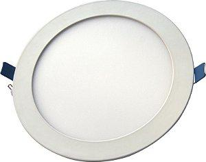 Placa de LED de Embutir Cristallux 18W 3000K (Luz Quente)
