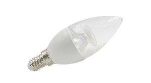 Lâmpada Vela LED Dimerizável Bivolt E-14 4,8W 2700K (Luz Quente)