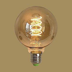 Lâmpada Filamento de LED GMH Dimerizável G95 220V 4W