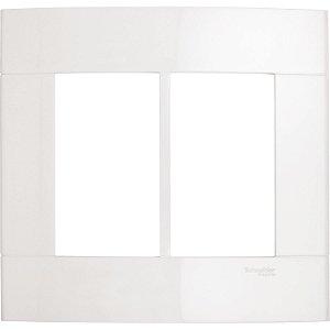 Placa 4x4 para 6 Módulos Schneider Decor