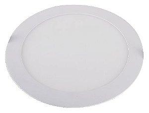 Placa de LED de Embutir Redonda Startec 18W 3000K (Luz Amarela)
