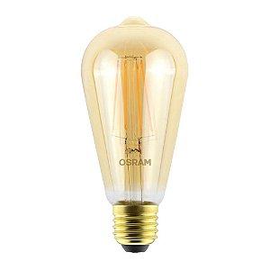Lâmpada ST64 LED Vintage Osram 4,5W 2500K (Luz Quente)