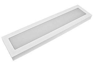 Luminária LED Sobrepor RCG 20W 6000K (Luz Fria)