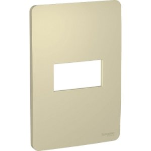 Placa 4x2 para 1 Módulo Schneider Orion Horizon Gold
