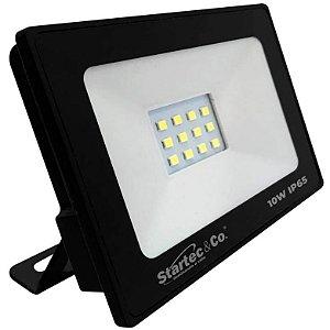 Projetor de LED Startec 10W 3000K (Luz Quente)