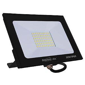 Projetor de LED Startec 30W 3000K (Luz Quente)