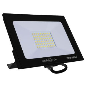 Projetor de LED Startec 50W 3000K (Luz Quente)