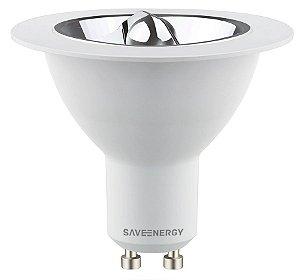 Lâmpada AR70 LED 4,8W 2700K (Luz Quente)