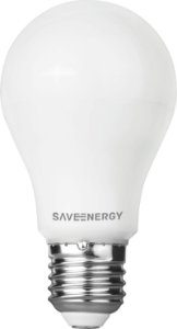 Lâmpada Bulbo LED Save Energy 8W 3000K (Luz Quente)