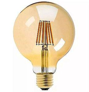 Lâmpada G80 Vintage LED 4W 2400K (Luz Quente)