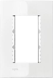 Placa e Bastidor Iriel Iris 4x2 para 3 Módulos