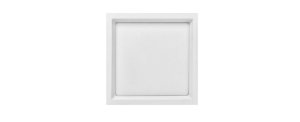 Placa LED de Embutir Recuada Stella 24W 4000K (Luz Neutra)