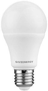 Lâmpada Bulbo LED Save Energy 8W 6500K (Luz Fria)