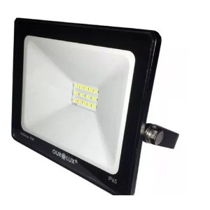 Projetor LED Ourolux 10W 6500K (Luz Fria)