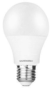 Lâmpada Bulbo LED Save Energy Bivolt 11W 3000K (Luz Quente)