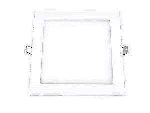 Placa LED de Embutir Ourolux 18W 2700K (Luz Quente)