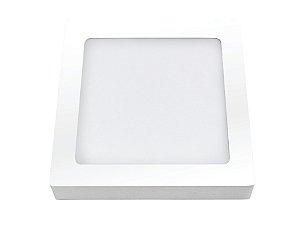 Placa LED de Sobrepor Ourolux 24W 2700K (Luz Quente)