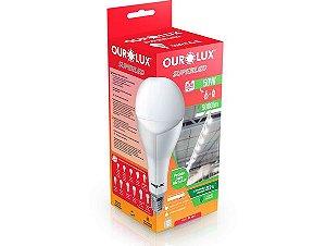 Lâmpada Bulbo LED Ourolux 50W 6500K (Luz Fria)